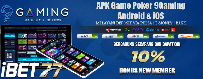 APK Game Poker 9Gaming Android & iOS